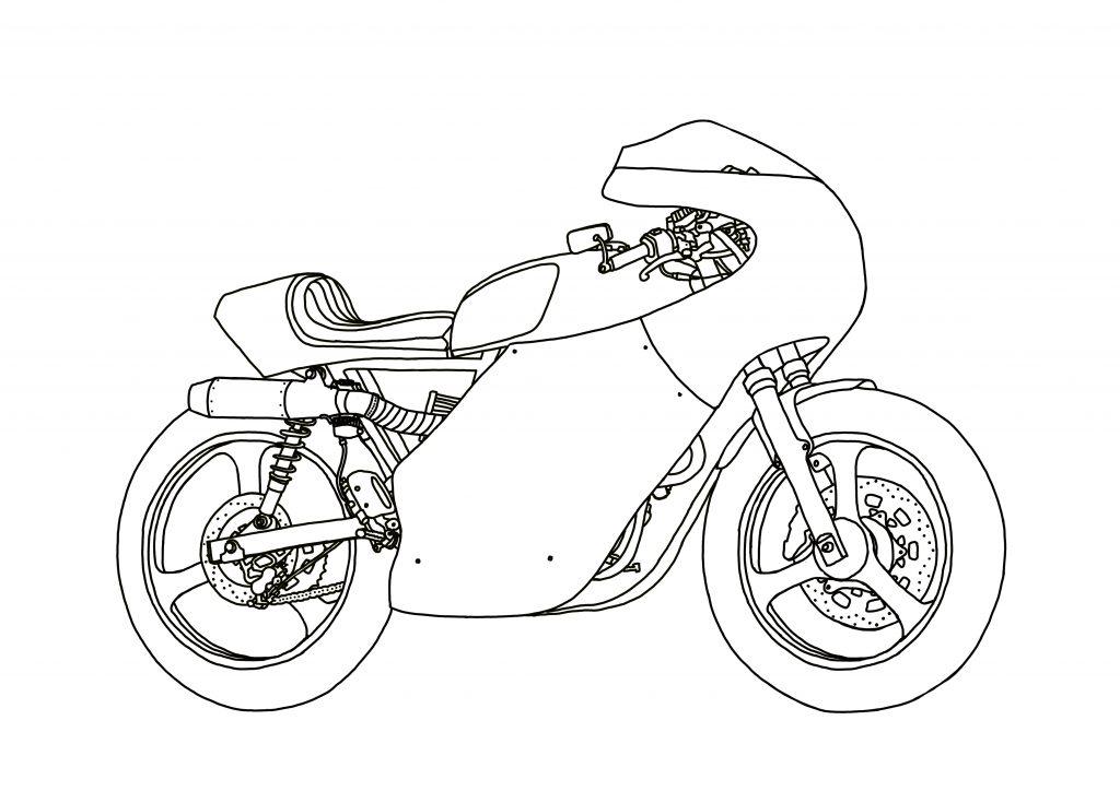 JO Motorcycle #011A