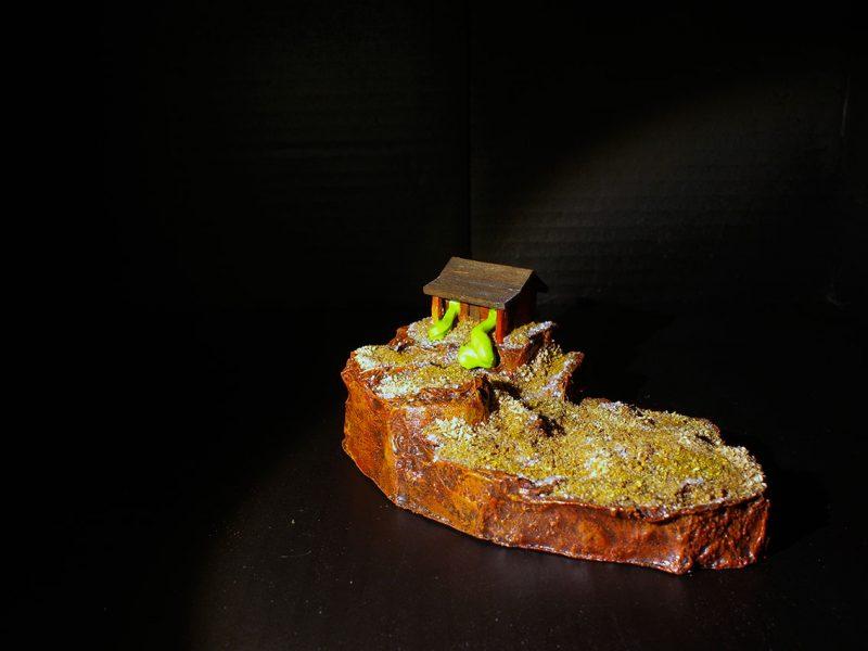 Odd Experiment #006: Green Blob House