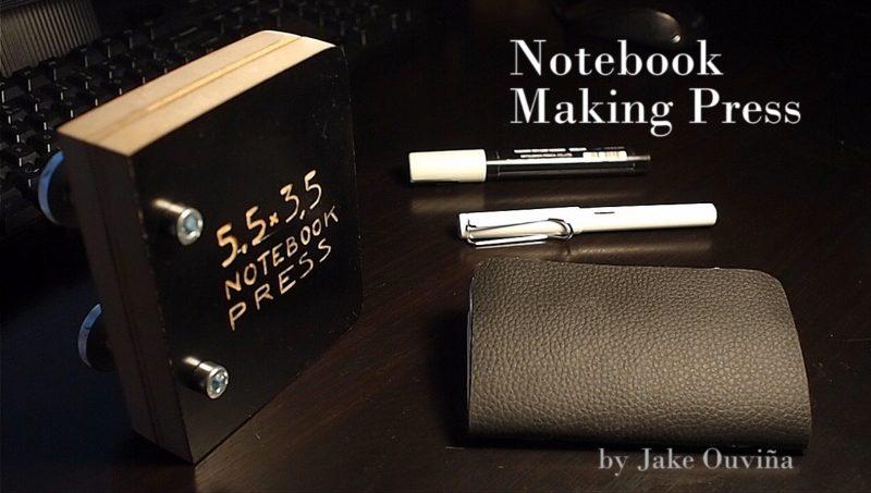 Notebook Making Press